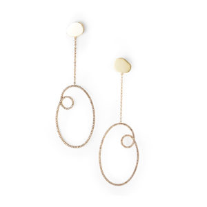 By Pariah Earrings  EarringsThe Whitney Diamond