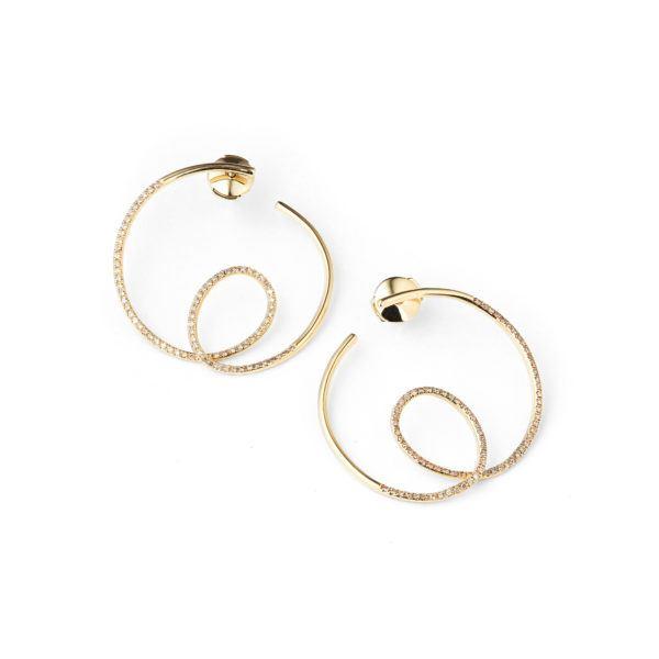 By Pariah Earrings  EarringsLe Louvre Diamond