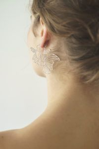 Polar Jewelry Earrings  Sakura CollectionKoi Hoop