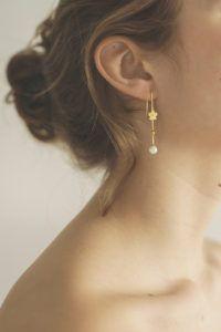 Polar Jewelry Earrings  Sakura CollectionSakura Hanging Pearl