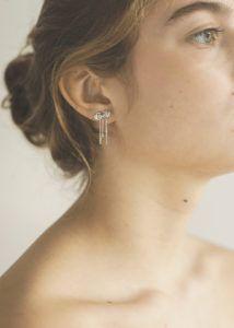 Polar Jewelry Earrings  Sakura CollectionChrysanthemum