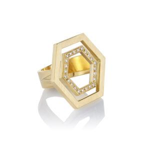 Danger Jewels Rings  RingsFloating Hexagon