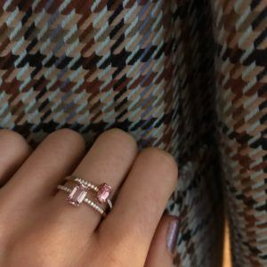 Anpé Atelier cph Rings  Classic ComplexityLadaru Rosa 18K ring