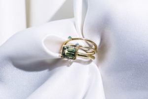 Anpé Atelier cph Rings  Scandinavian SimplicityMalene Aquamarine 1.8 ring