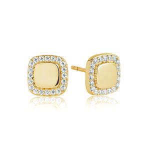 Sif Jakobs Jewellery Earrings  SS19Follina Quadrato Earrings