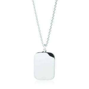 Sif Jakobs Jewellery Necklaces  SS19Follina Pianura Quadrato Pendant