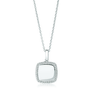 Sif Jakobs Jewellery Necklaces  SS19Follina Quadrato Pendant