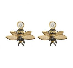 Danger Jewels Earrings  EarringsSmall Bee Earstuds