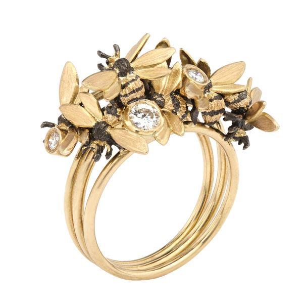 Danger Jewels Rings  RingsSmall Cluster Ring