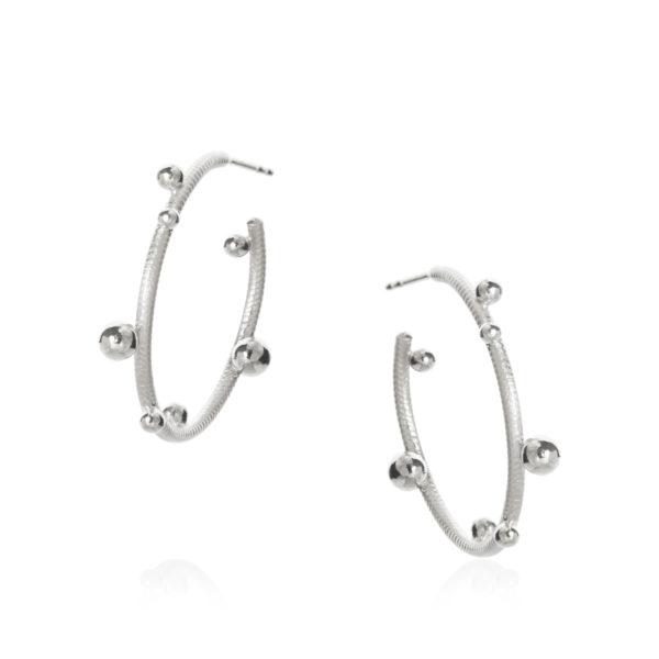 Dulong Fine Jewelry Earrings Hoops  DelphisSmall Delphis Hoops