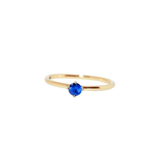 Anpé Atelier cph Rings  Scandinavian SimplicityMalene Blue Sapphire 3.5 ring