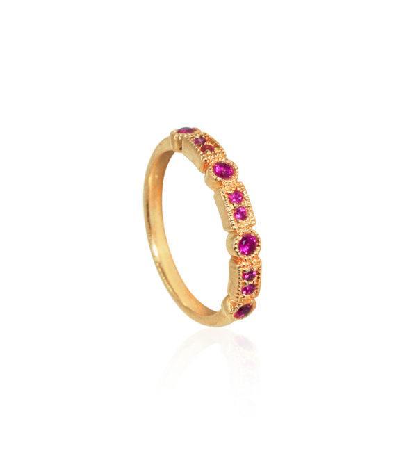 Anpé Atelier cph Rings  Scandinavian SimplicityTrine Ji Hot Pink ring