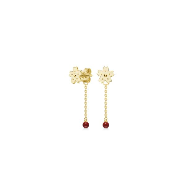 Polar Jewelry Earrings  Sakura CollectionSakura Backdrop