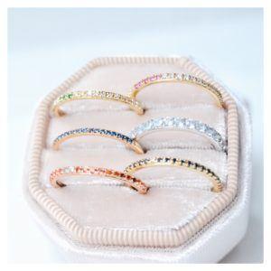 Anpé Atelier cph Rings  Scandinavian SimplicitySarah Lil Pink Ring