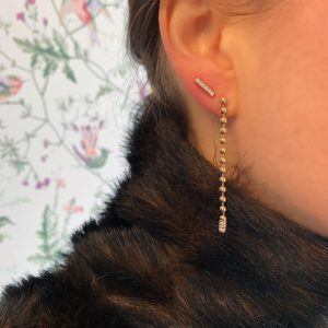 Haniel Jewelry Earrings  EarringsString Gold Diamond Earring