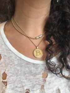 Haniel Jewelry Necklaces  NecklacesLove Coin Big