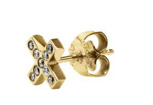 Haniel Jewelry Earrings  EarringsCross Diamond Earring