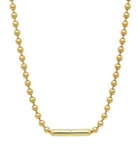Haniel Jewelry Necklaces  Necklaces3mm Ball Chain Necklace