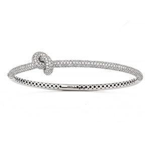 Engelbert Bangles Bracelets  Knot CollectionAbsolutely Knot Full Pavé