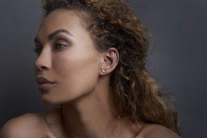 Haniel Jewelry Earrings  EarringsCross Earring Rosegold