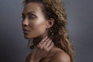 Haniel Jewelry Earrings  EarringsString Whitegold Earring