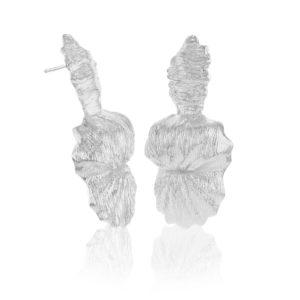 Hasla Jewelry Earrings  SeashellThe Queen Conch silver earrings