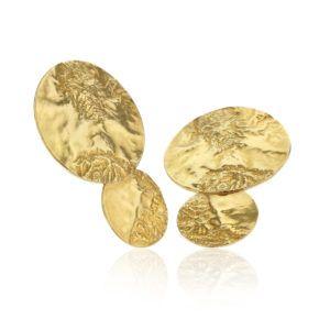 Hasla Jewelry Earrings  SpaceSolar System gold earrings