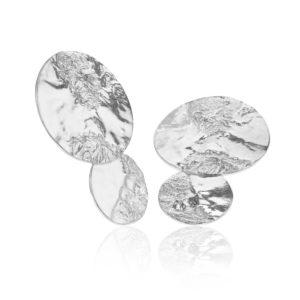 Hasla Jewelry Earrings  SpaceSolar System silver earrings