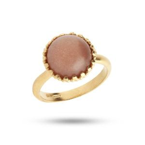 Carré Jewellery Rings  SS19Goldplated Ring