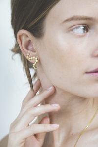 Polar Jewelry Earrings  Tarot CollectionThe Star Earcrawler