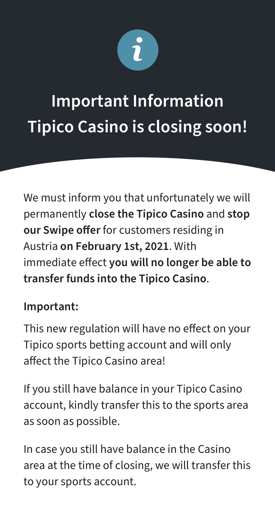 tipico betting rules for holdem