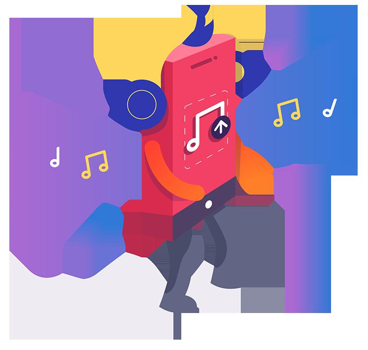Music bot popup