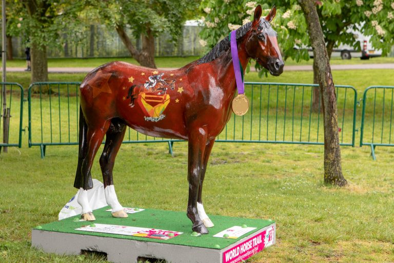 World Horse Trail sculpture trail launched