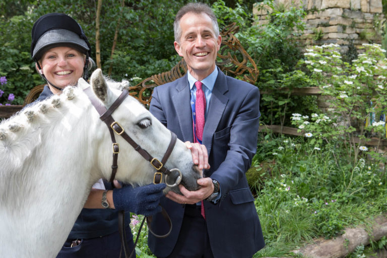"""More icing than cake"" says World Horse Welfare CEO on winning RHS Chelsea Flower Show People's Choice Award"