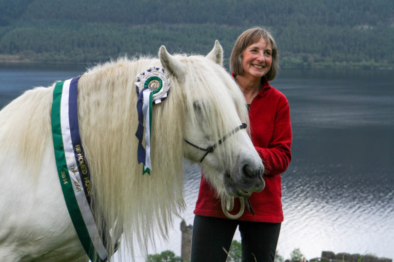 Major sighting at Loch Ness turns out to be Rehomed Horse of the Year