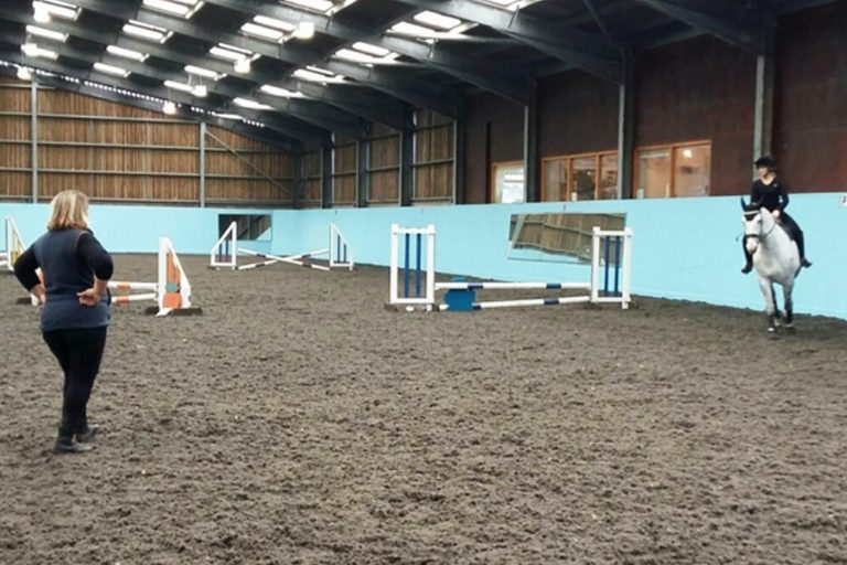 Cancelled: Clear round jumping with instructor Ali Pearson