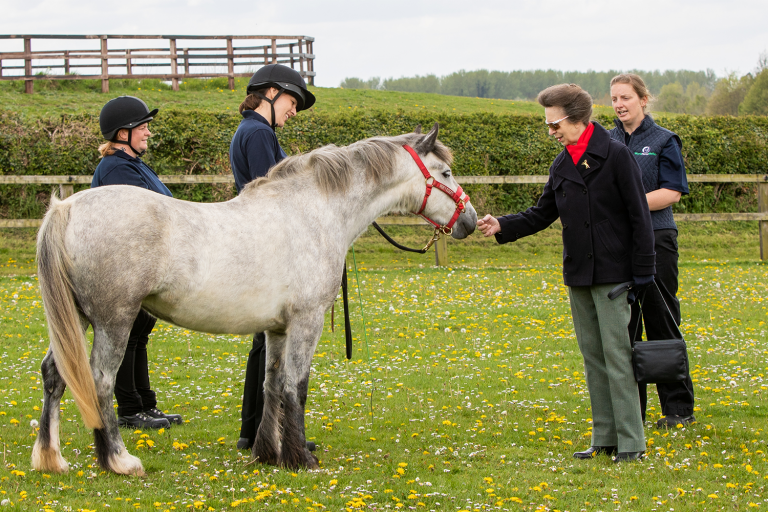 Royal President visits World Horse Welfare in Norfolk