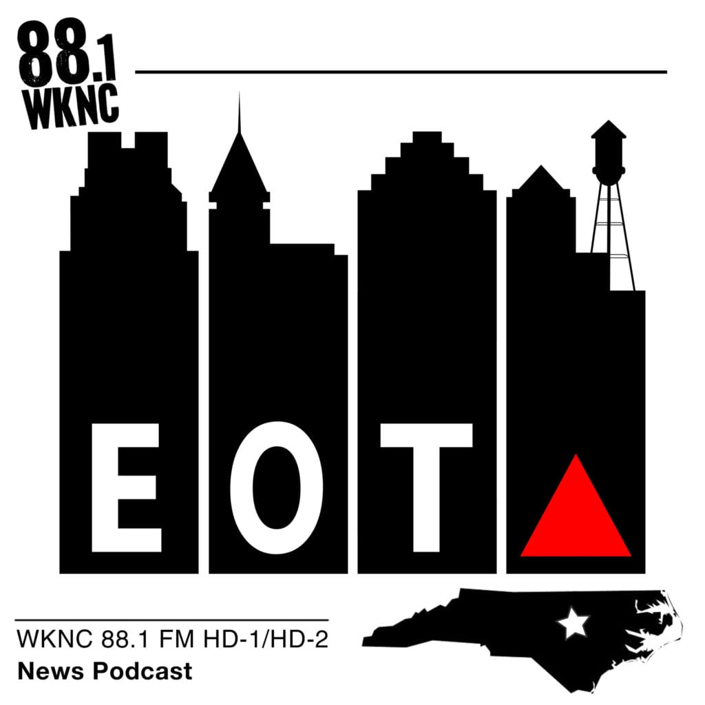 Eye on the Triangle WKNC 88.1 FM HD-1/HD-2 news podcast
