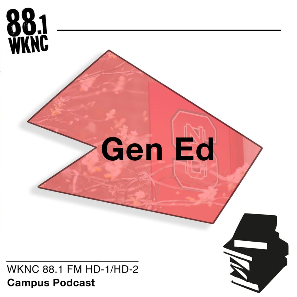 Gen Ed WKNC 88.1 FM HD-1/HD-2 campus podcast