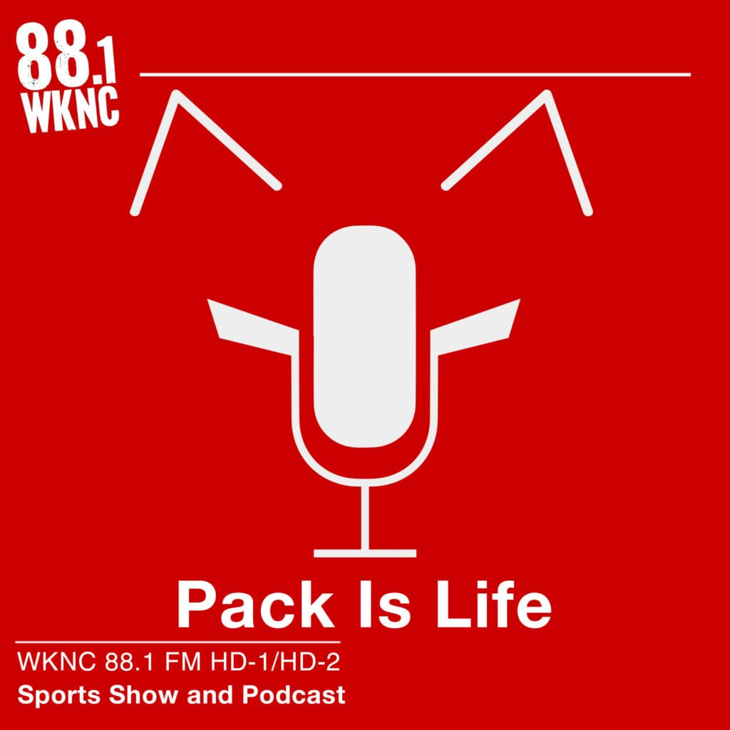 Pack Is Life WKNC 88.1 FM HD-1/HD-2 sports show and podcast