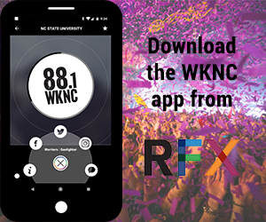 Download the WKNC app from RFX
