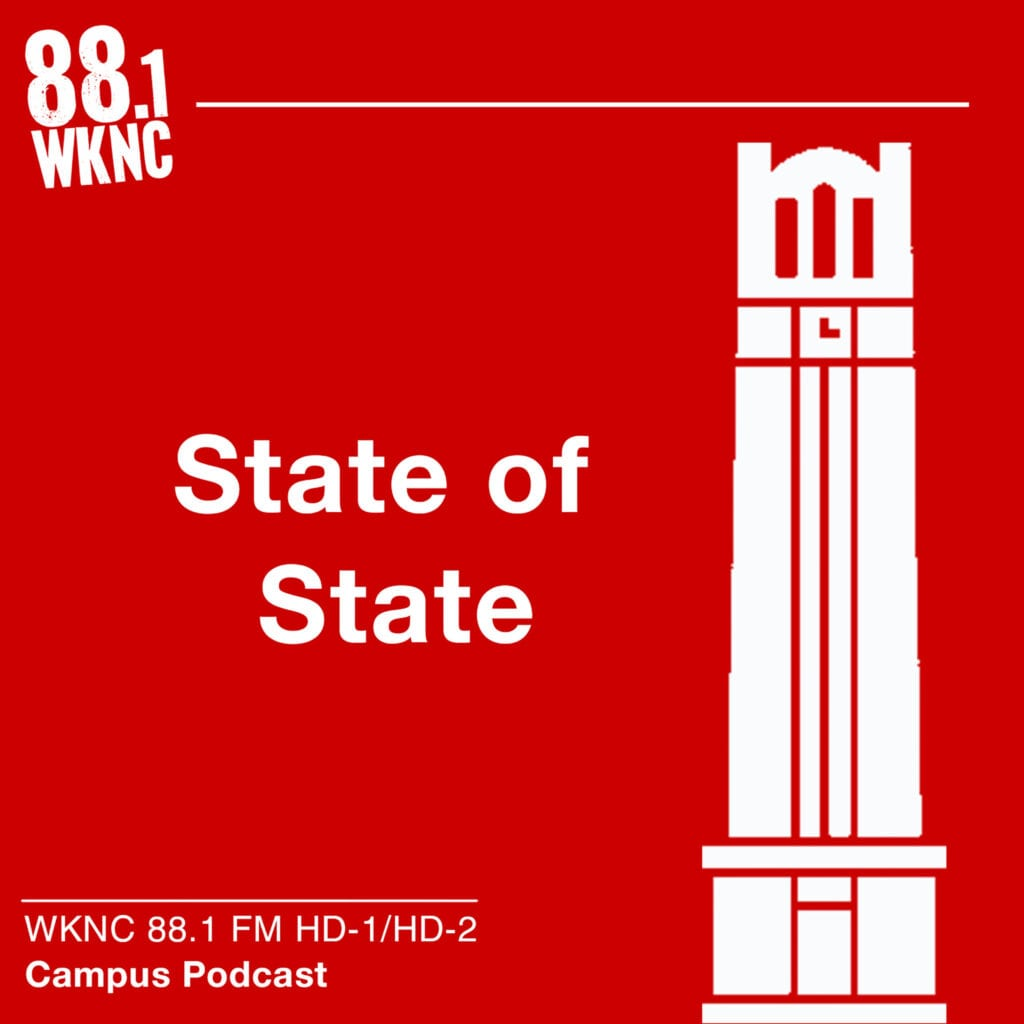 State of State WKNC 88.1 FM HD-1/HD-2 campus podcast
