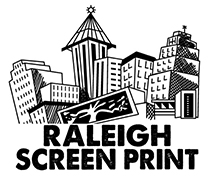 Raleigh Screen Print