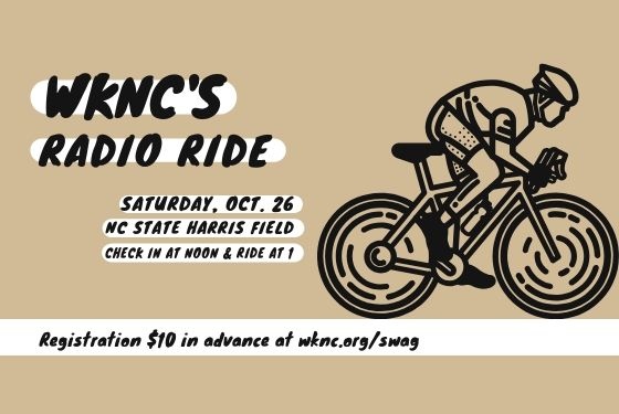 WKNCs's Radio Ride Saturday, Oct. 26 on Harris Field