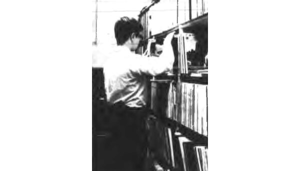 According to an article in the Nov. 18, 1966 Technician, WKNC's record library housed more than 10,000 records: 6,000 45s, 3,000 LPs, and other records, including 78s and test recordings. Image from Nov. 18, 1966 Technician.