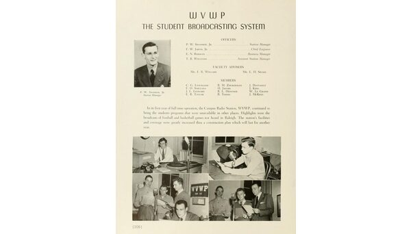 WVWP featured in 1948 Agromeck.