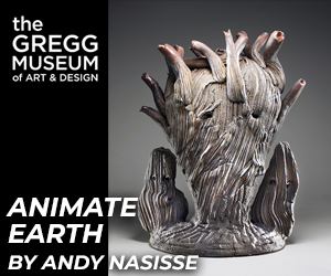 The Gregg Museum of Art & Design's Animate Earth by Andy Nasisse