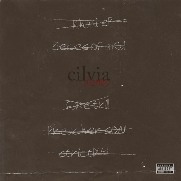 Album cover for Isaiah Rashad's Cilvia Demo