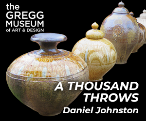 A Thousand Throws by Daniel Johnston at the Gregg Museum of Art & Design