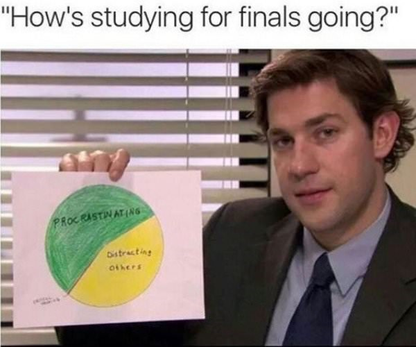 Final Exams Meme from The Office